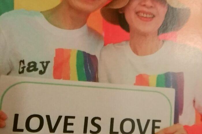 Happy  pride !!!  たくさんの愛を世界に届けよう!